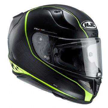 HJC RPHA 11 Riberte Black Yellow MC4HSF Full Face Motorcycle Helmet Pinlock inc